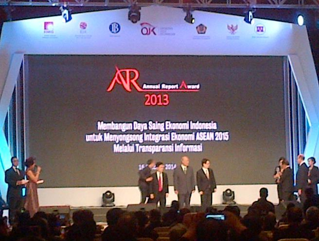 annual report awards