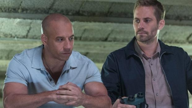Vin Diesel dan Paul Walker