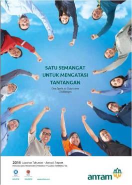 Cover Antam 2014