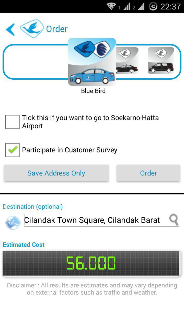 Blue Bird App