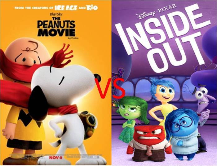 Peanuts Movie ddan Inside Out