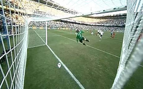 Lampard goal disallowed