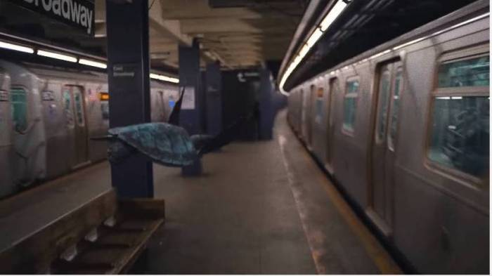 Coldplay - Turtle In Subway